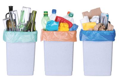 Entsorgung-Mülltrennung