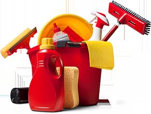 spring-clean-Reinigung-Werkzeuge